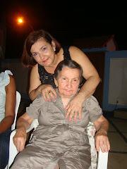 Último encontro com minha mãe numa comemoração...