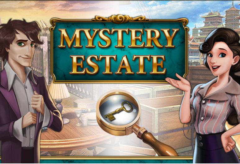 hidden object mystery estate game