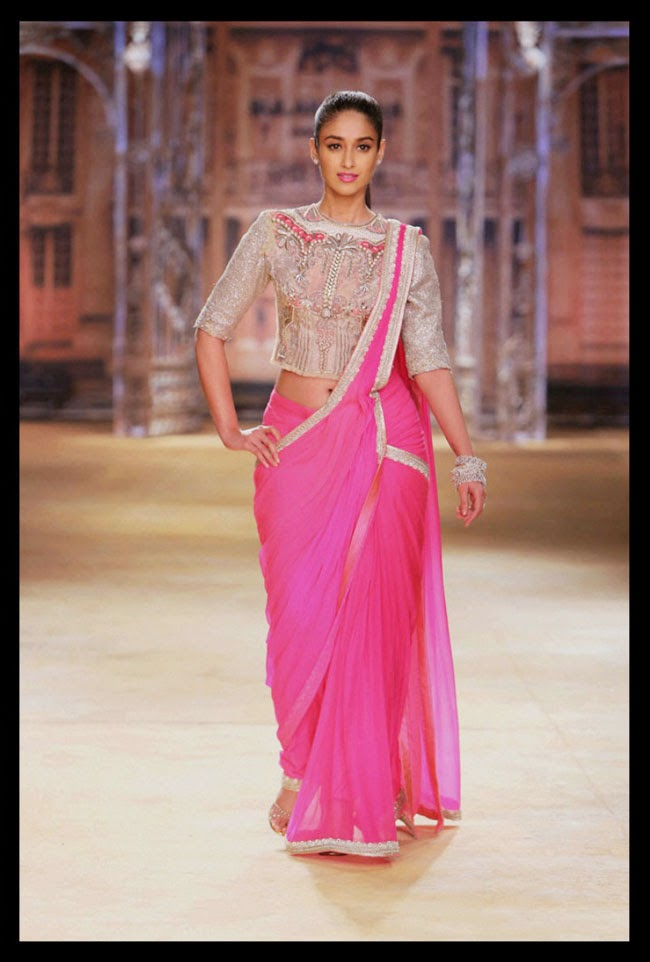 Actress Ileana D'cruz at India Couture Week 2014