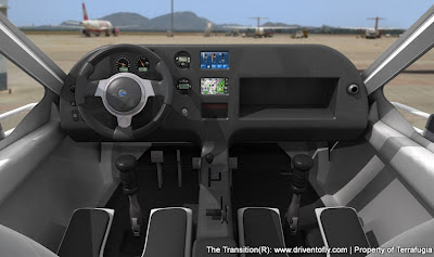 Terrafugia Transition Cockpit