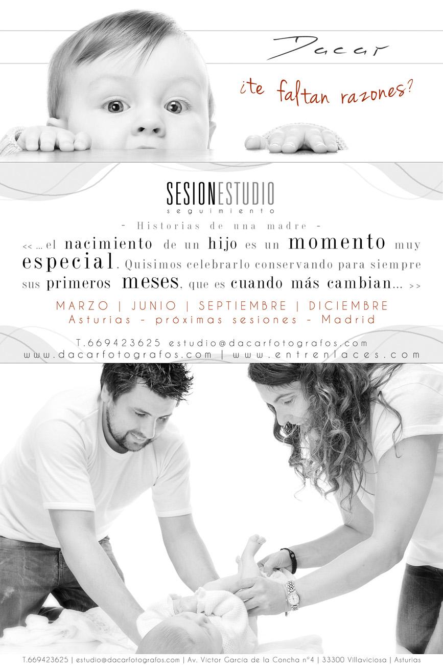Fotografia infantil y de embarazo Madrid Asturias. Seguimientos infantiles