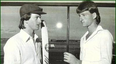 Childhood Pictures of Steve Waugh and Mark Waugh