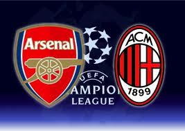 video arsenal vs ac milan