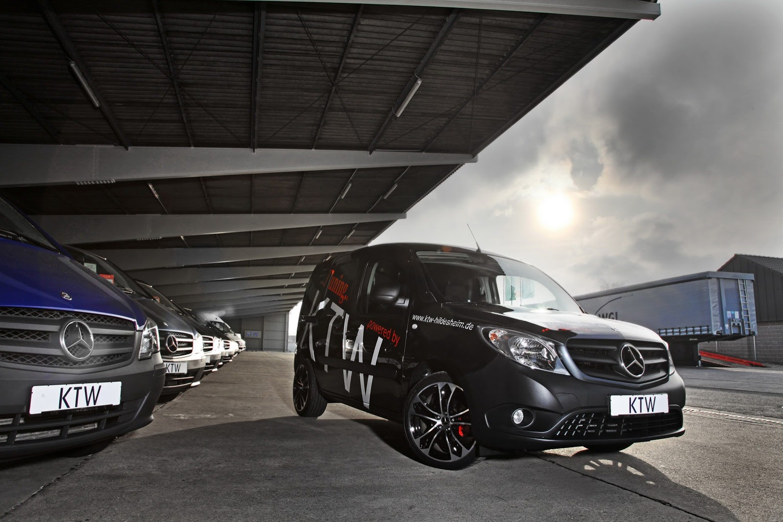 Mercedes Citan by KTW Tuning