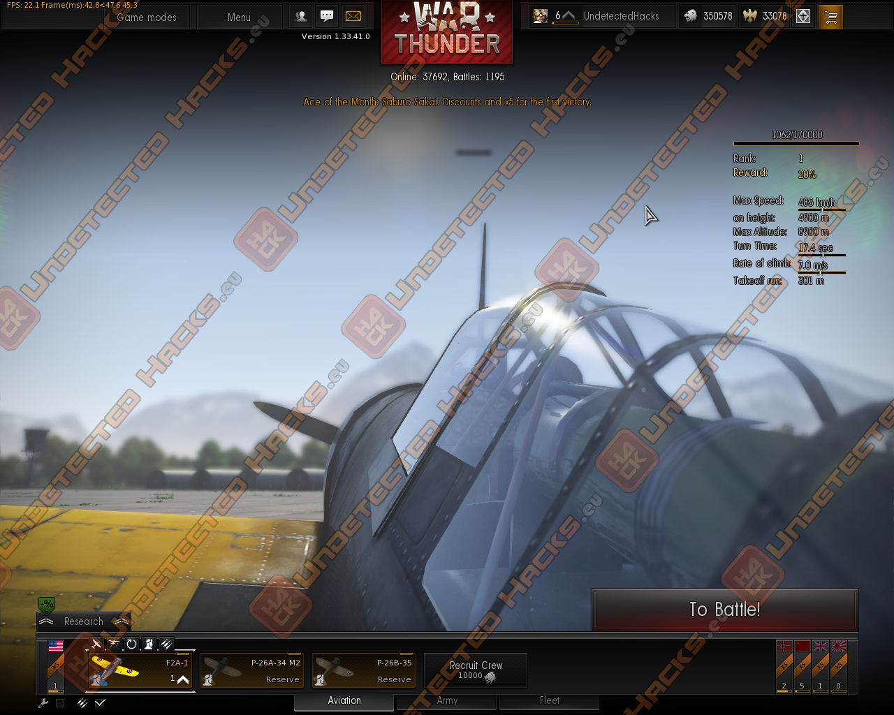 War Thunder Add Eagles for free