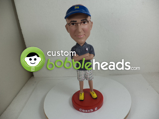 Coach Gift Idea Custom Bobblehead