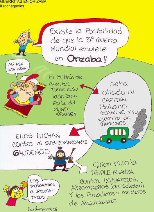 GUERRAS EN MERCADO CERRITOS - ORIZABA