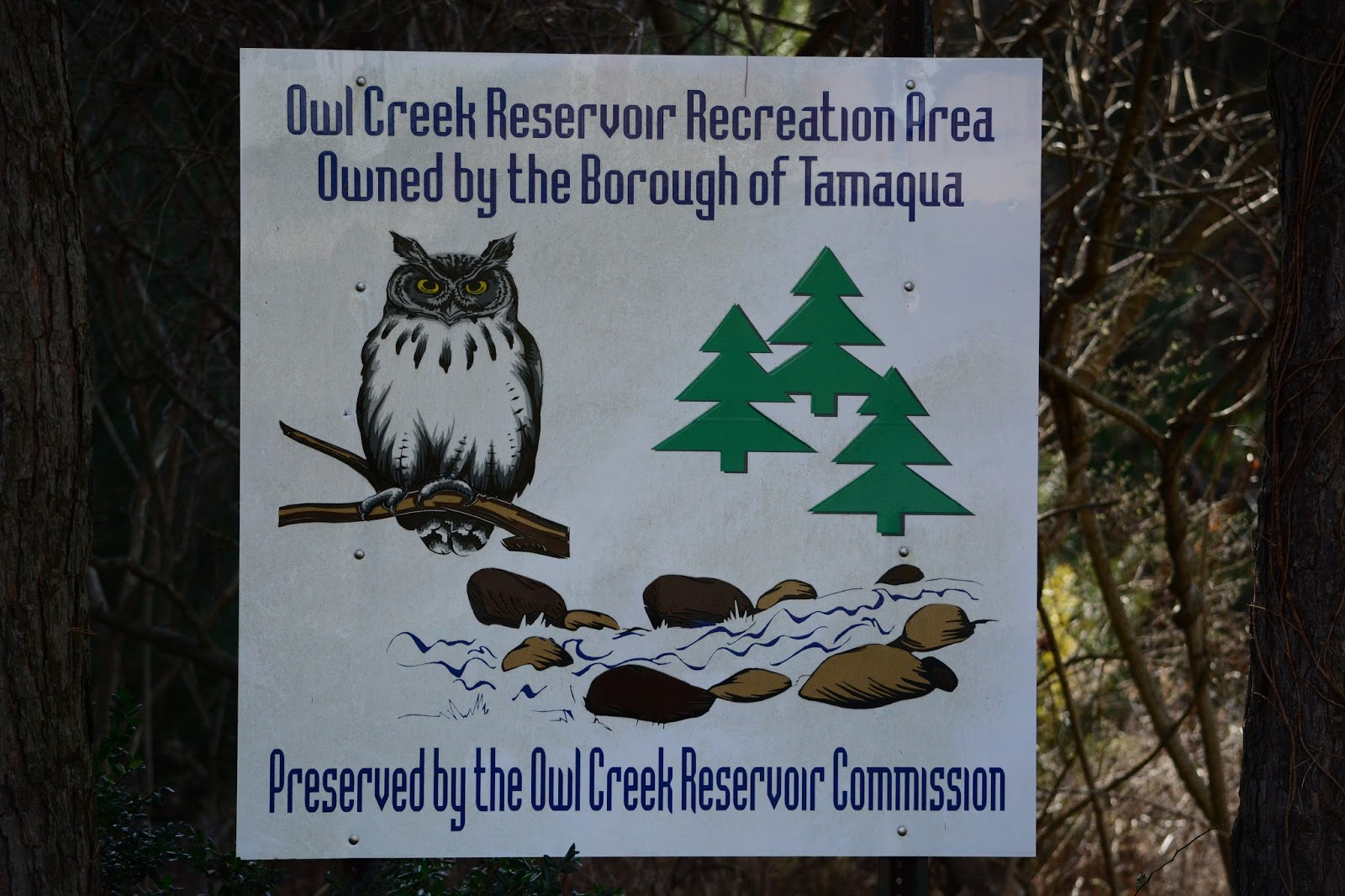 Taking out the trash in eastern pa owl creek reservoir for Owl creek