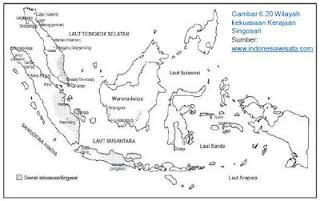 Daerah Kekuasaan Kerajaan Singosari