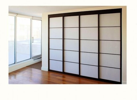 Closet doors for bedrooms home interior ideas for Closet door ideas
