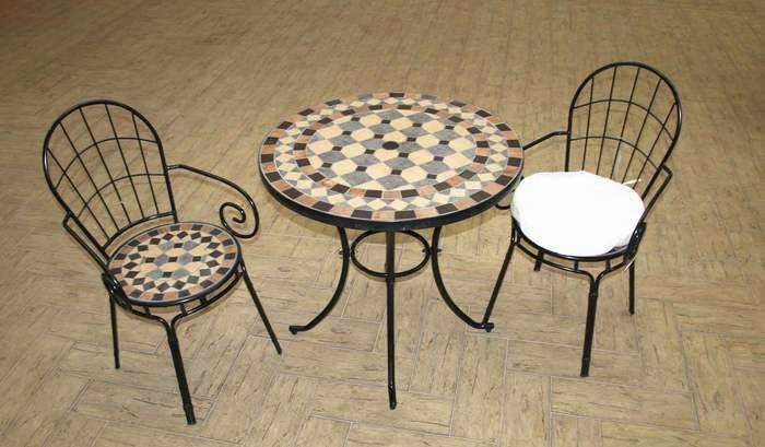 Muebles De Forja Para Jardin Cheap Antiguo Juego De Sillones Y - Sillas-de-forja-para-jardin