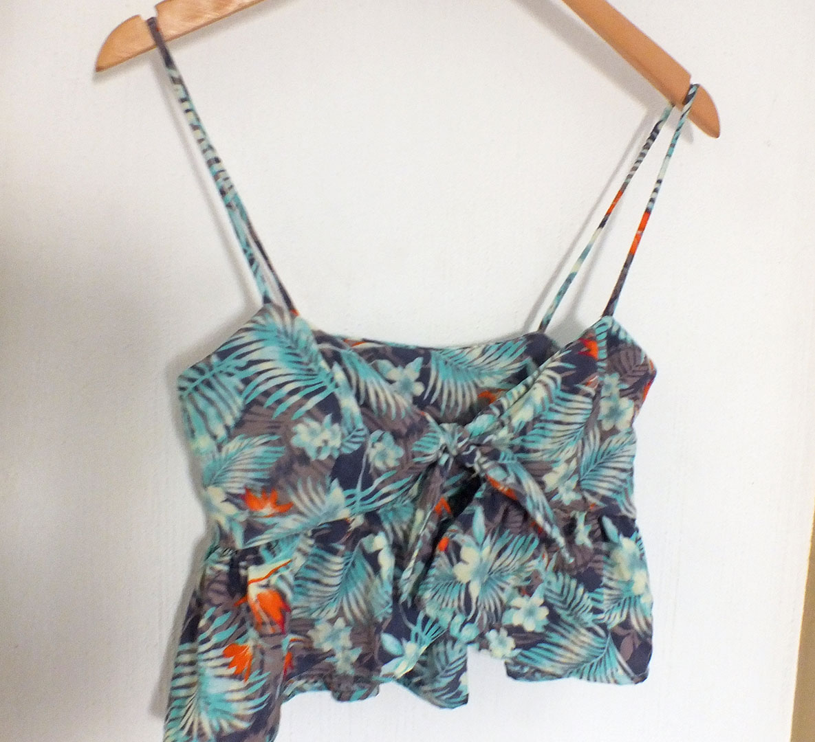 Crop top for spring break || free pattern || patrón gratis / JAZZ RO DIY