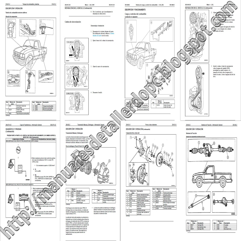 manual de taller ford ranger