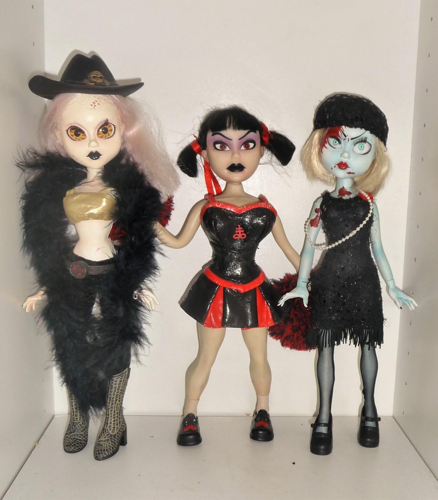 Dead dolls fashion victims series Mezco Toyz Living Dead Dolls Series Five m Lil