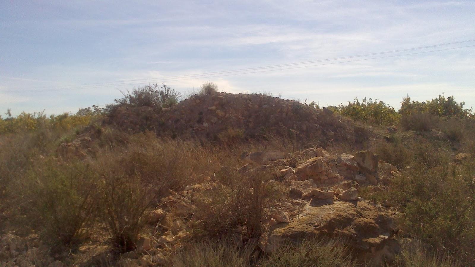 Ruinas de la vieja ermita de Torrellano Bajo, construida en 1817