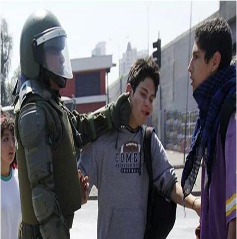 La imagen ilustra el Chile de hoy.