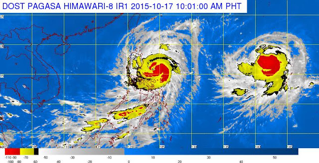 'Bagyong Lando' slightly intensifies, nears landfall in Aurora