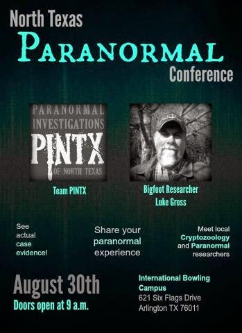 Texas Paranormal Investigators Conference