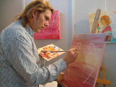 Pintura de Pere Pascuet y Nuria López