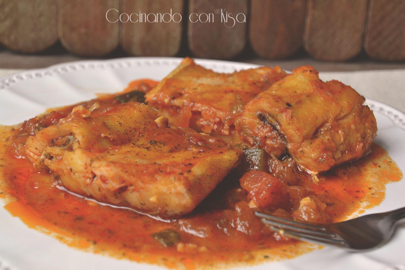 Cocinando con kisa bacalao a la vizca na fussioncook for Cocinando con kisa