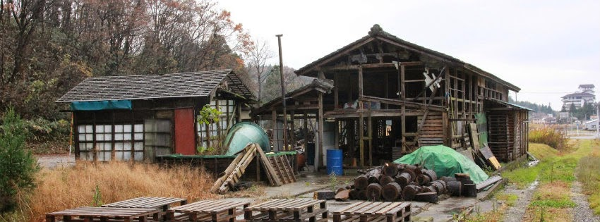 月岡の養鶏場