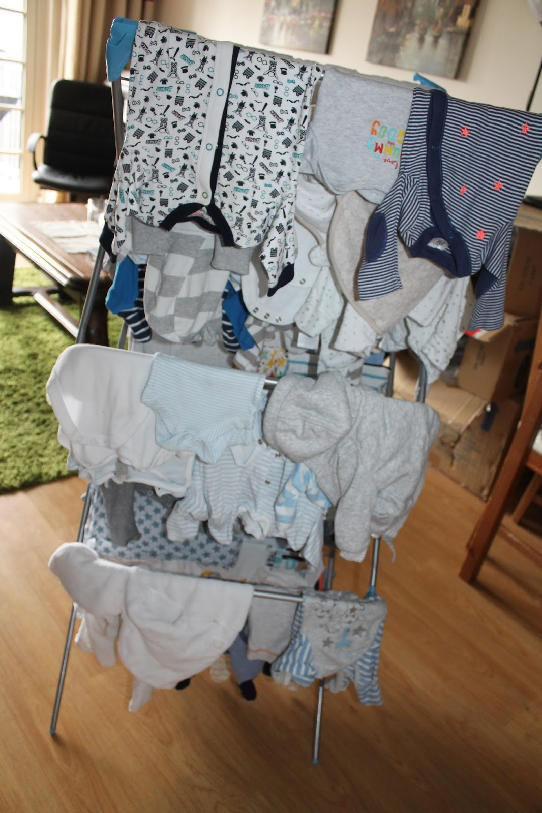 Washing Baby Clothes Round 2 & Moving Daniella to Sister s