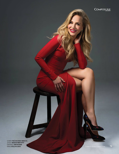 Julie Benz Hot Legs