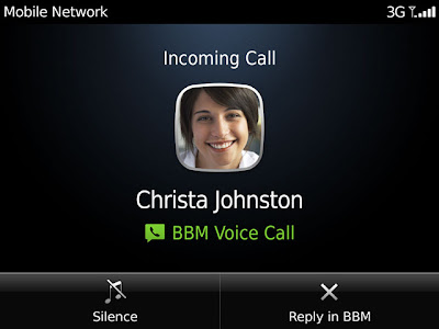 Good news for BlackBerry OS 5.0, OS 6.0 and OS 7.0 users BlackBerry Voice (BBM 7) will be available for you