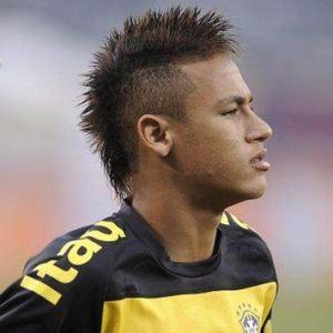 Neymar Cool Mohawk Hair Style