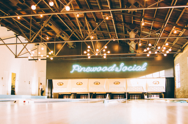 A review of dinner at Pinewood Social in Nashville Tennessee