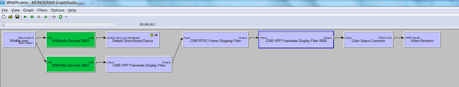 Video processing project blog: Using the FrameSkippingFilter to drop ...