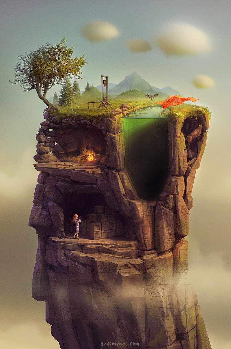 03-A Slice-of-Life-Gediminas-Pranckevicius-Surreal-Glimses-into-other-Universes-www-designstack-co