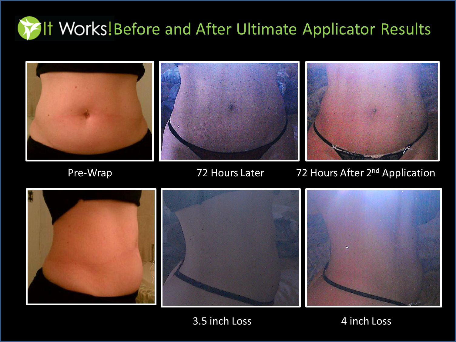My It Works Before and After Pictures