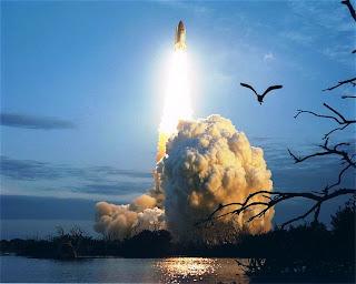 Lançamento de Foguete - NASA