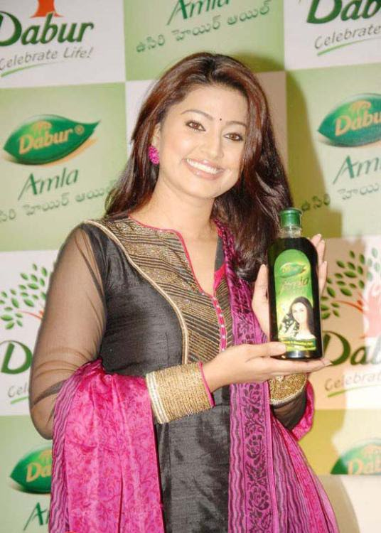 Sneha@Dabur Amla Hair Oil