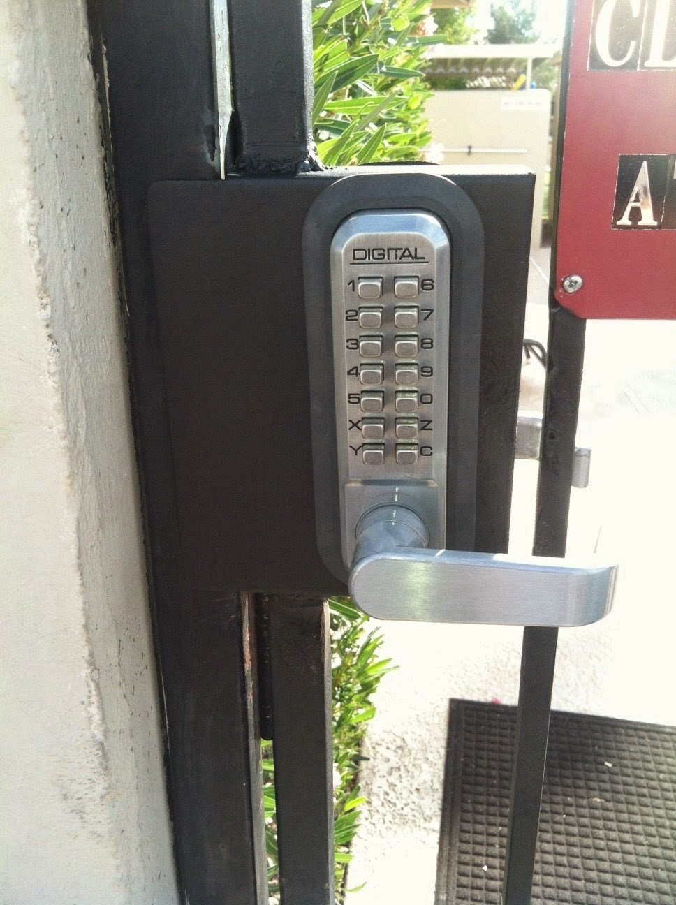 Pool Gate HOA Code Locks