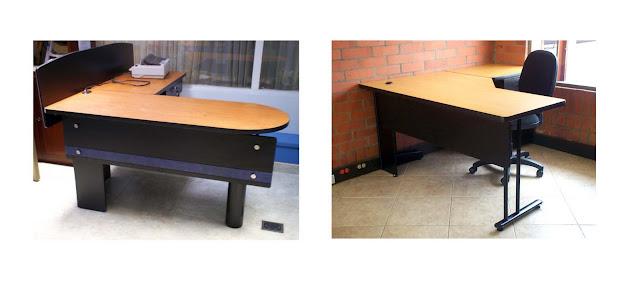 Muebles addequar solucion a oficina abierta y muebles para for Muebles de oficina en l