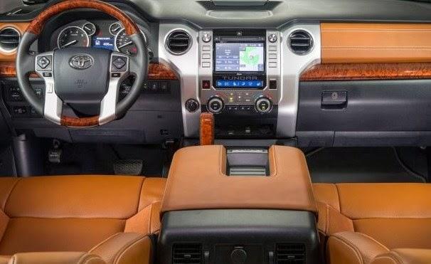 2016 Toyota Tundra interior