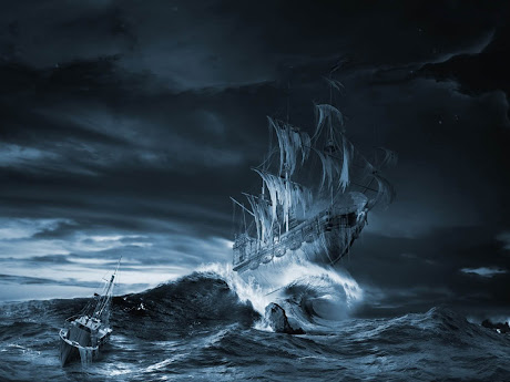 kapal seram, kapal hantu