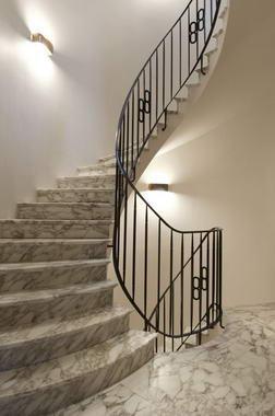 diferentes tipos de escaleras cocinas modernas