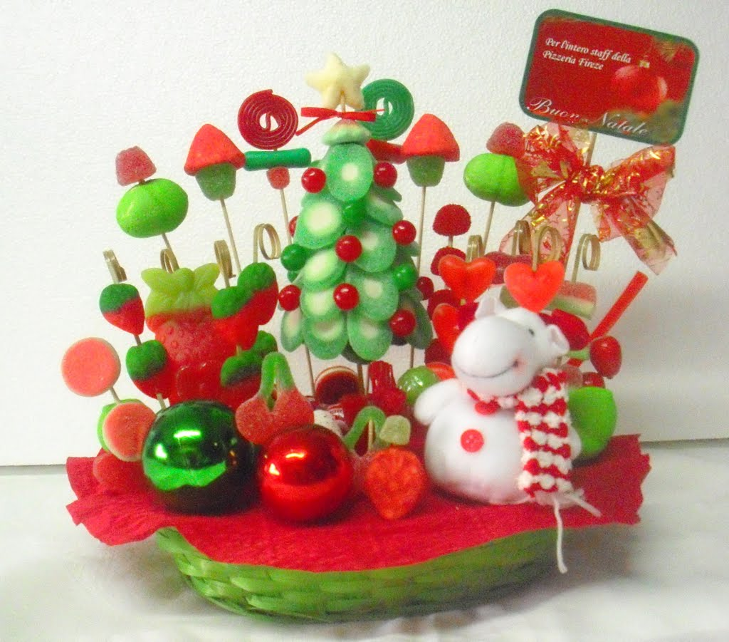 MuyAmeno.com: Arboles de Navidad Decorados con Dulces