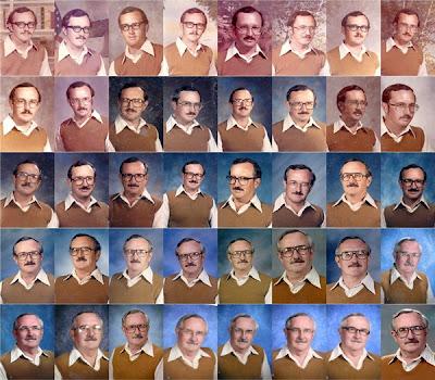 Profesor que se vistió igual por 40 años