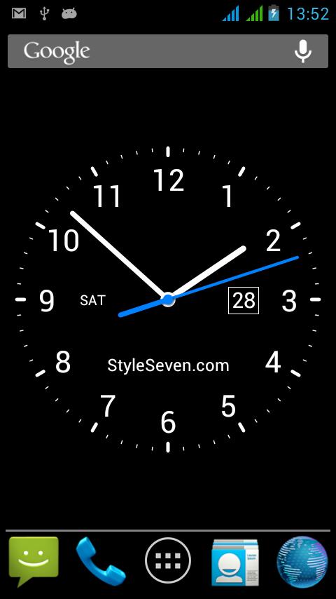 цифровые часы заставка на телефон № 56958 загрузить