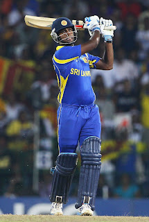 Angelo Mathews played a decisive innings to carry his side to World Cup Final