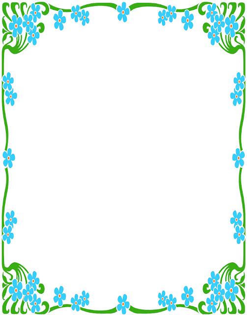 Bordes para decorar hojas en word - Imagui