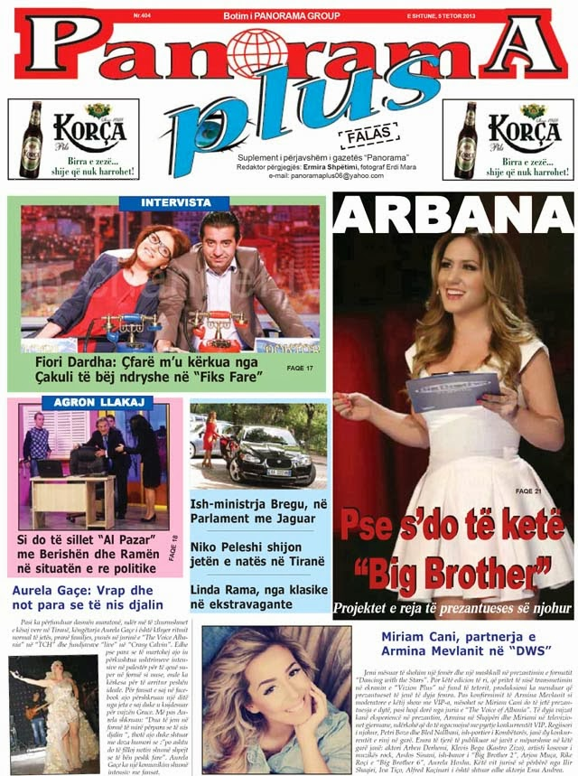 Revista PANORAMA PLUS - 5 Tetor 2013