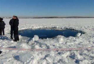 Tragedi Jatuhnya Meteor di Rusia Lukai Sedikitnya 1.200 orang