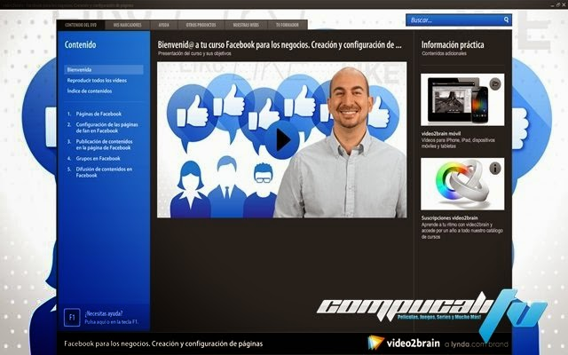 Curso Video2Brain Facebook Para Los Negocios