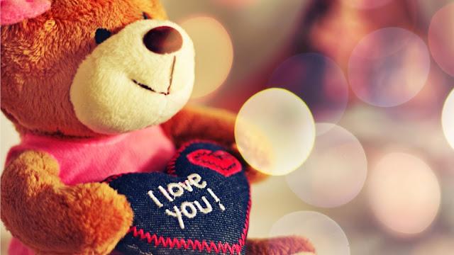 Osito de Peluche I Love you para San Valentin