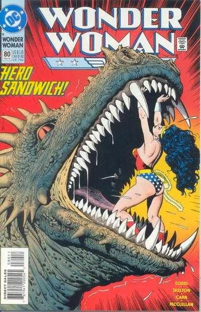 Wonder Woman 80 Cover Bolland